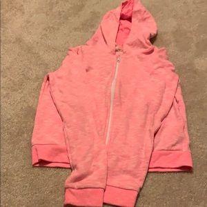 H&M Girls Pink Hoodie. Size 14y